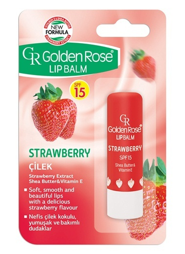 Gr.Lıp Balm Strawberry Spf 15 No:04-Golden Rose